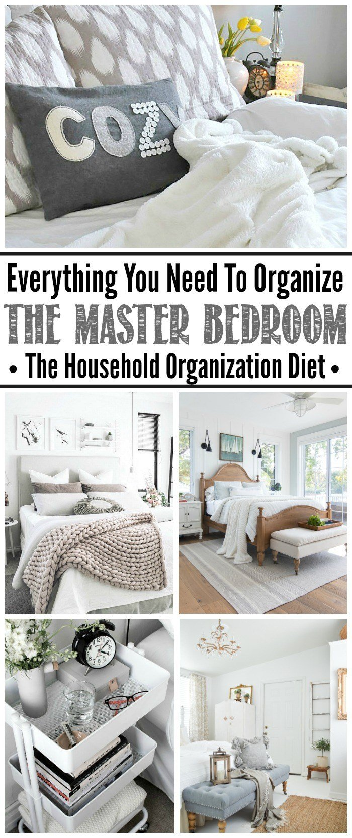 Best How To Organize The Master Bedroom September Hod Clean And Scentsible With Pictures