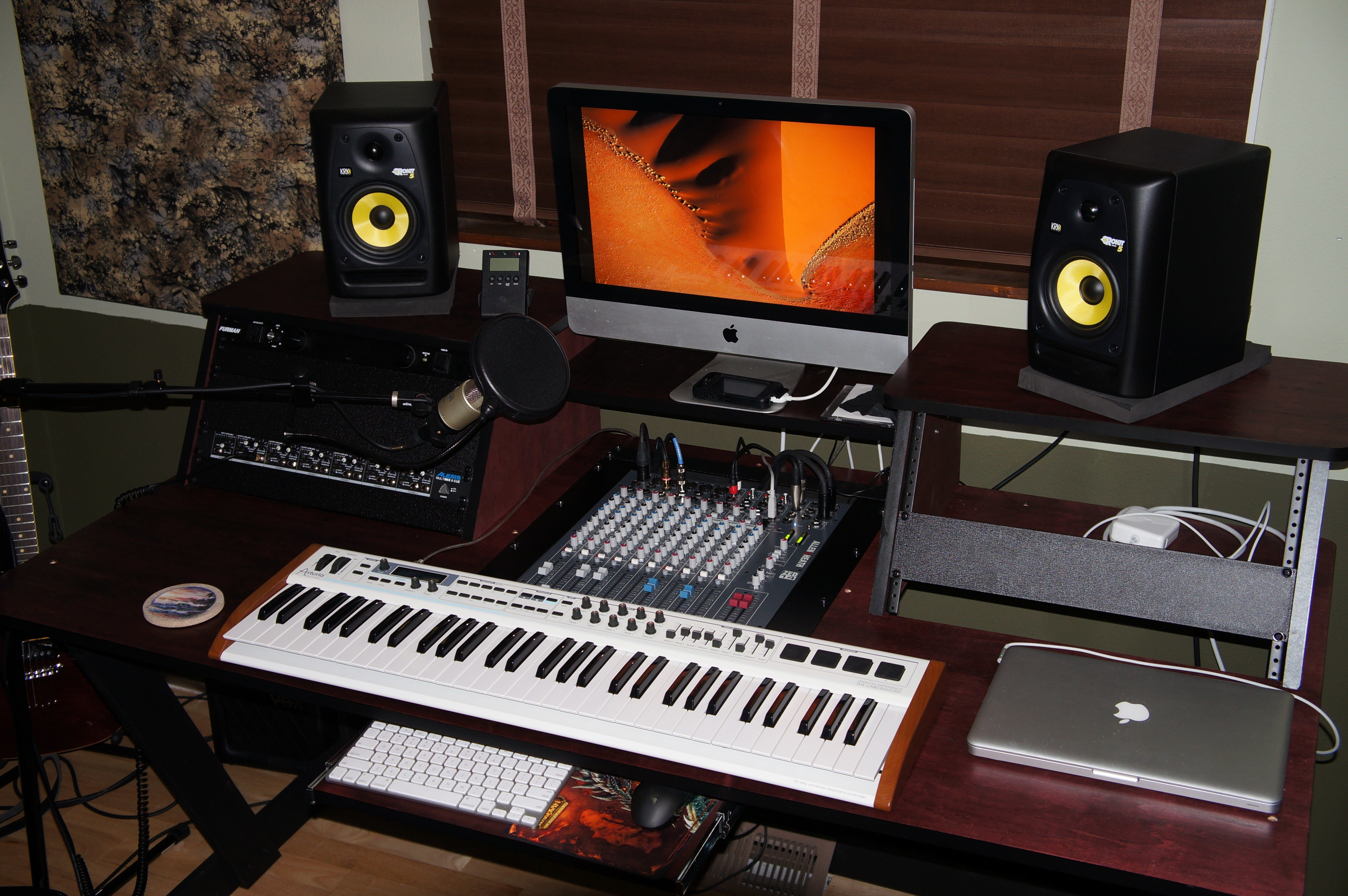 Best Studio Desk In The Works Gearslutz Pro Audio Community With Pictures