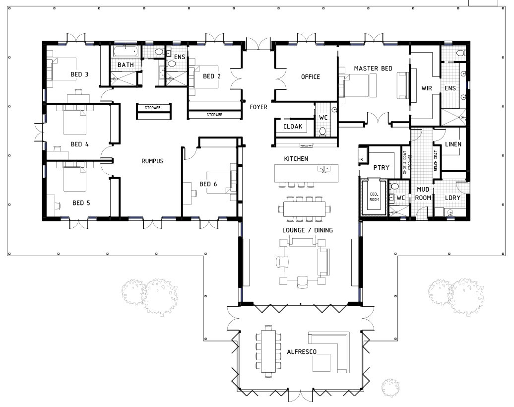 Best Floor Plan Friday 6 Bedrooms With Pictures