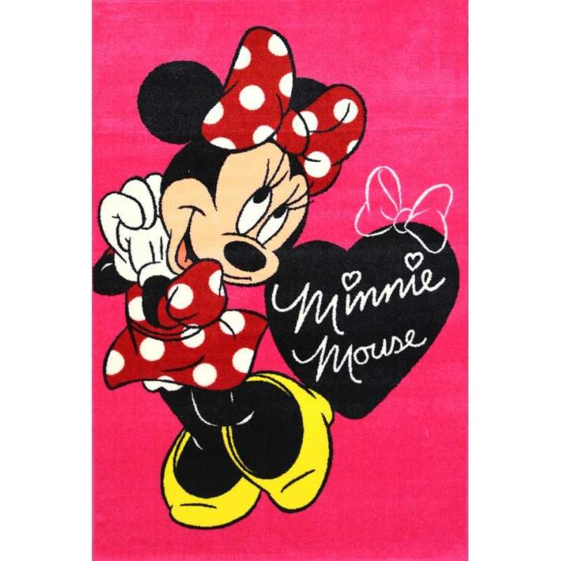 Best Minnie Mouse Bow Rug 133Cm X 200Cm Kidscollections With Pictures