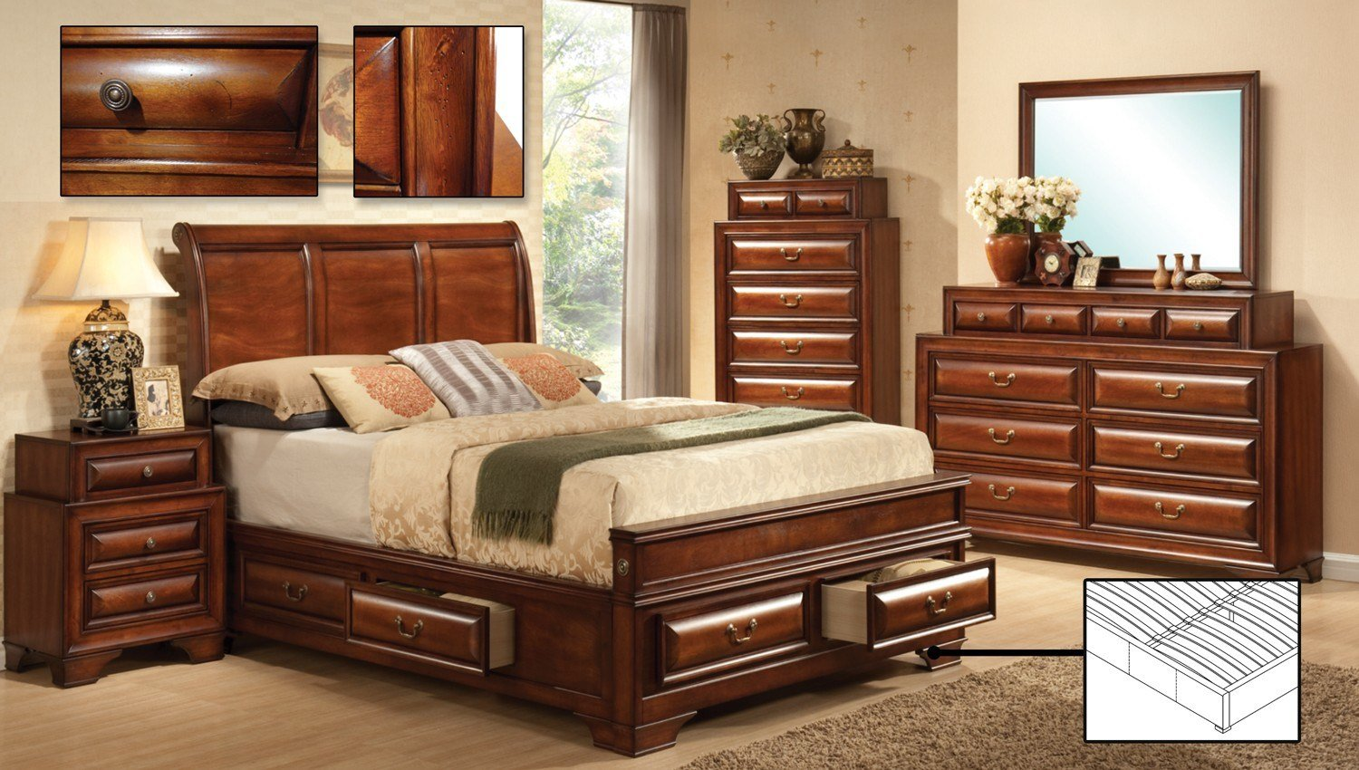 Best If Bedroomset Sofia King Bedroom Sets Kitchen And Couch With Pictures