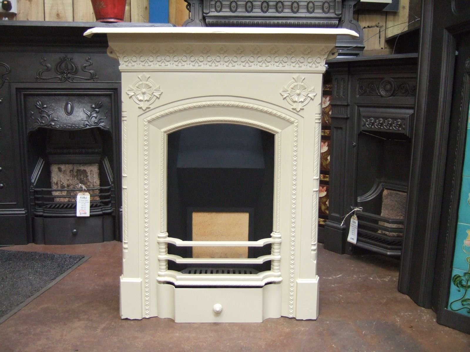Best Victorian Cast Iron Fireplace Wirral 272Mc Old Fireplaces With Pictures