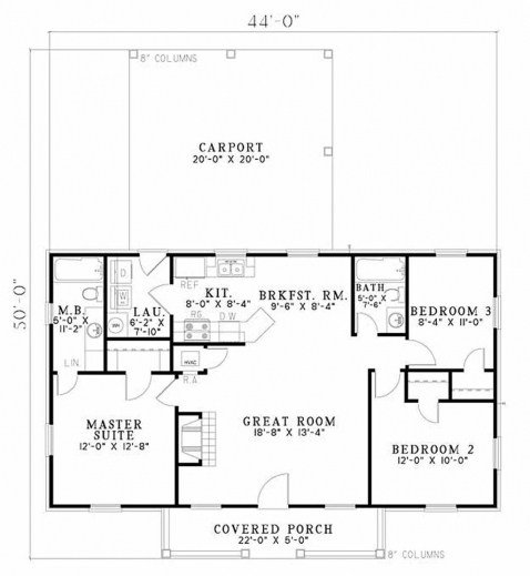 Best Simple Ranch House Plans 3 Bedroom July 2019 House Floor With Pictures