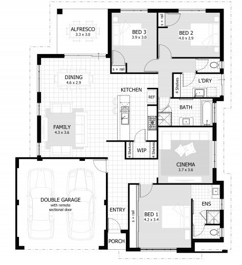 Best Simple House Plan With 3 Bedrooms May 2019 House Floor Plans With Pictures