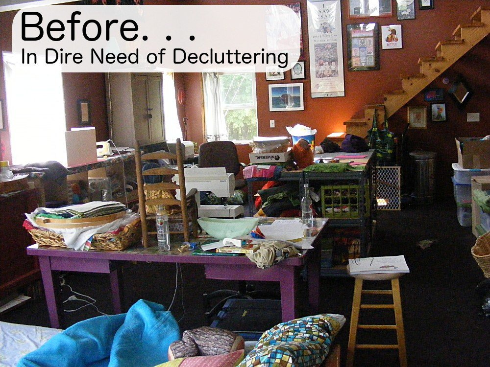 Best How To Declutter A Craft Room Shiny Happy World With Pictures