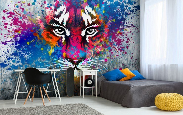 Best Graffiti Wallpaper For Your Teenager's Bedroom Wallsauce Uk With Pictures