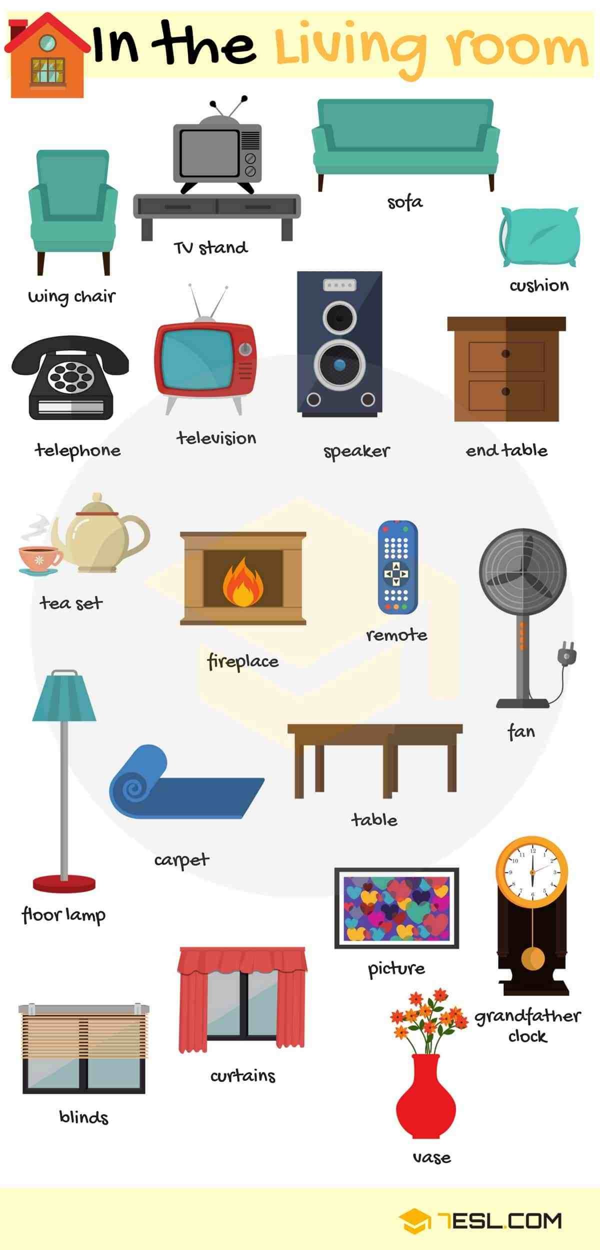 Best Types Of Furniture Useful Furniture Names With Pictures 7 E S L With Pictures