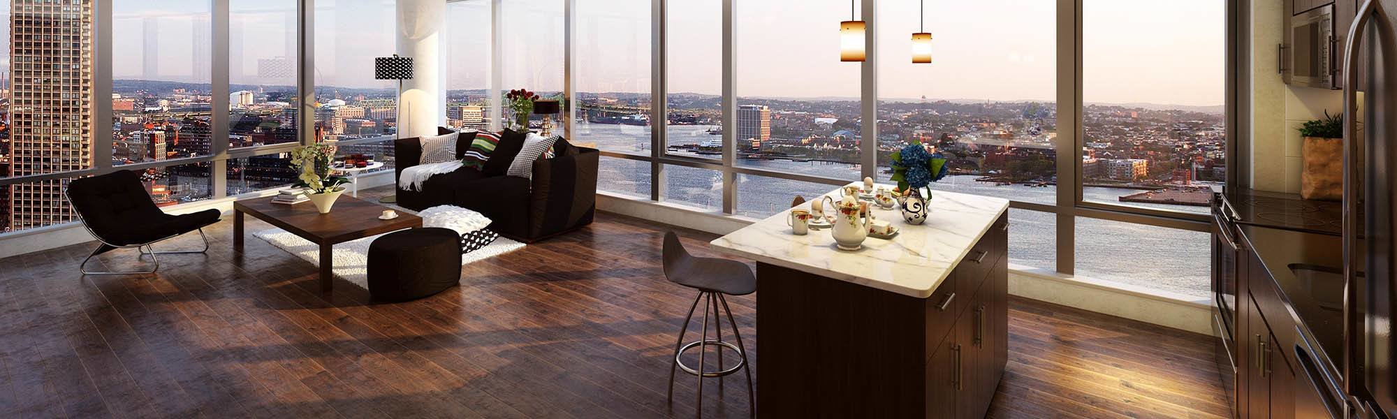 Best 3 Bedroom Apartments Boston The Benjamin With Pictures