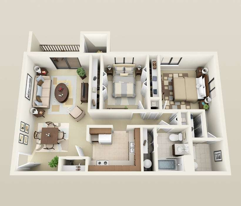 Best Affordable 2 Bedroom Apartments In Madison Wi With Pictures