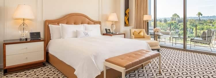 Best Beverly Hills Luxury Hotel Accommodation Details Rooms With Pictures