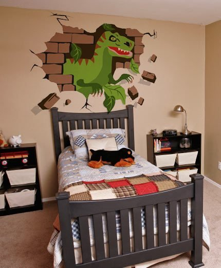 Best Diy Dinosaur Mural Off The Wall With Pictures