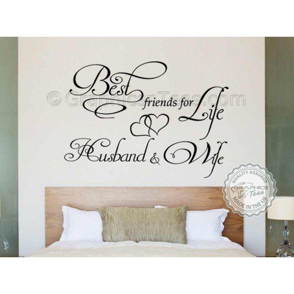 Best Friends For Life Husband And Wife Romantic Bedroom With Pictures