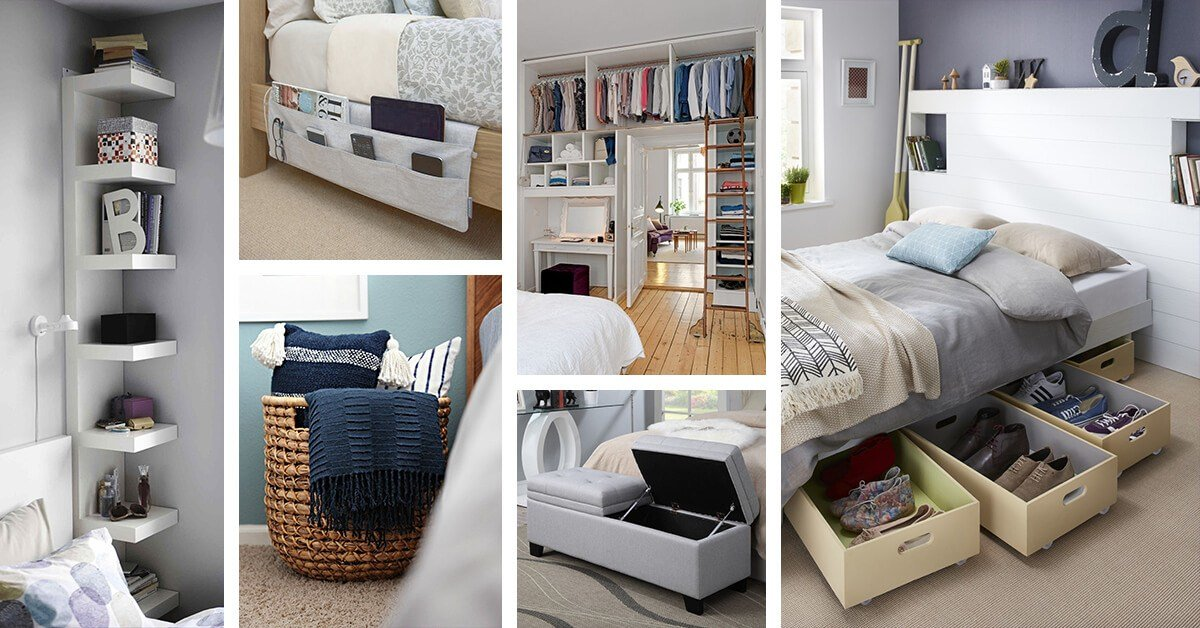 Best 38 Best Bedroom Organization Ideas And Projects For 2019 With Pictures