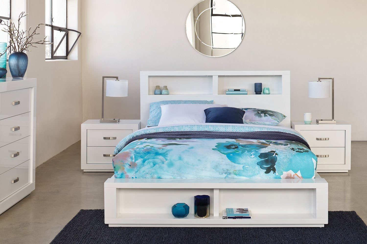 Best Summit Queen 4 Piece Bedroom Suite By Stoke Furniture With Pictures