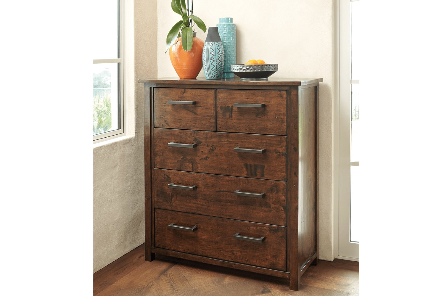 Best Farmhouse 5 Drawer Tallboy By John Young Furniture Harvey Norman New Zealand With Pictures