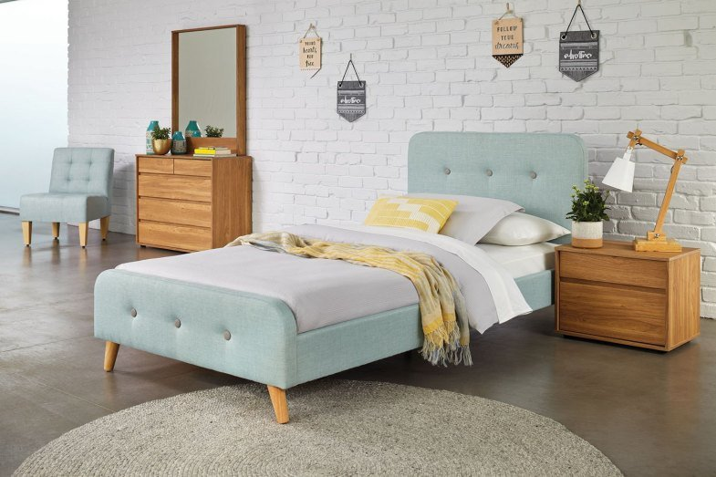 Best Calypso King Single Bed Frame By Nero Furniture Harvey With Pictures