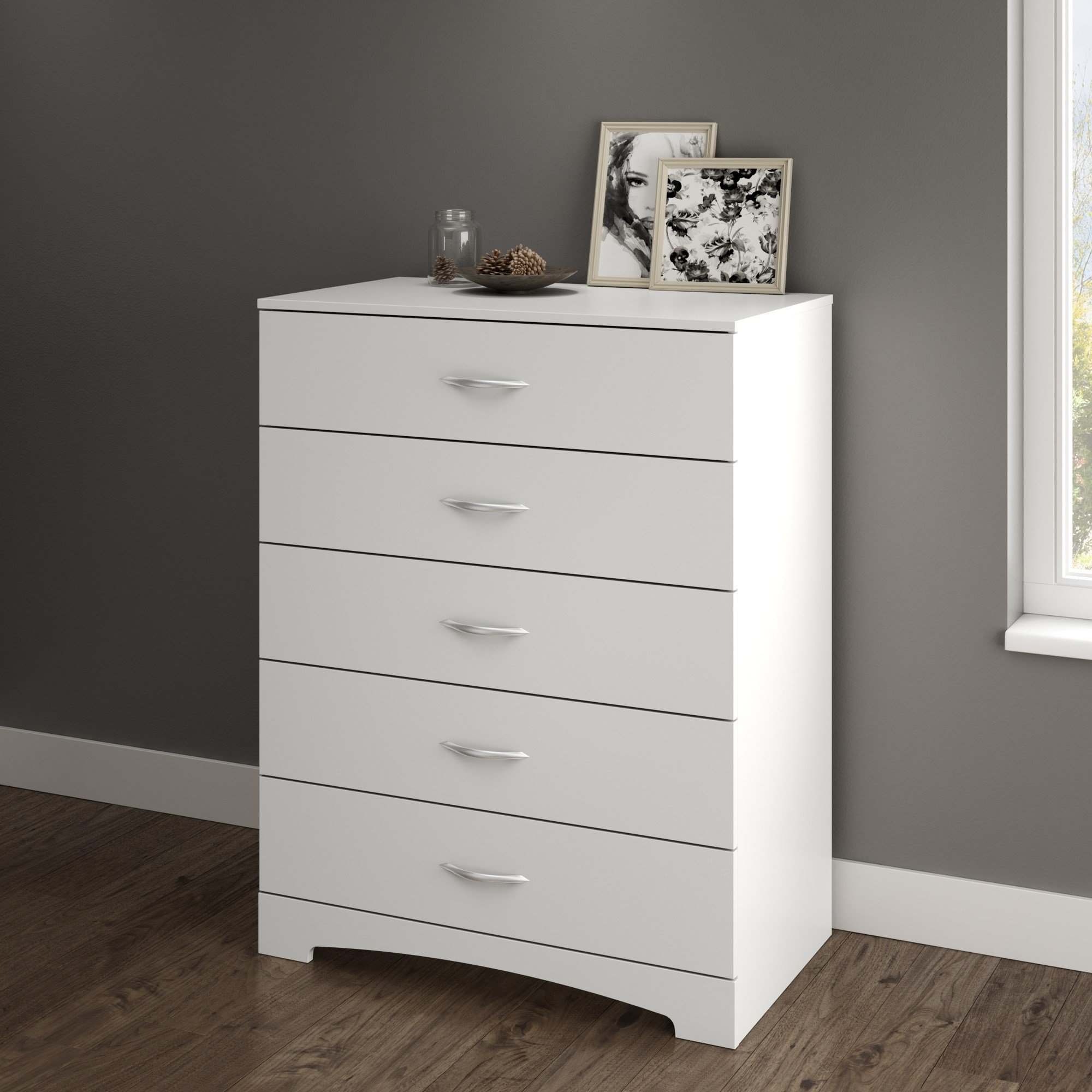 Best South Shore Soho 5 Drawer Chest Multiple Finishes With Pictures
