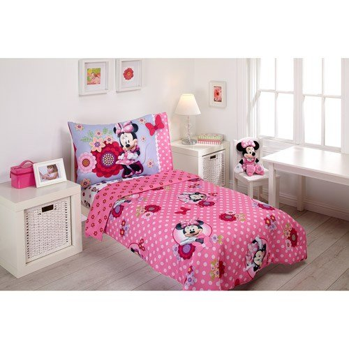 Best Disney Minnie Mouse Baby Toddler Furniture Bedding With Room Accessories Walmart Com With Pictures