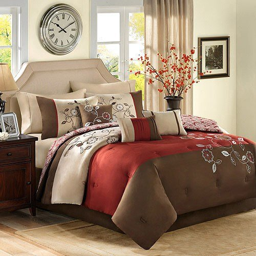 Best Better Homes And Gardens 7 Piece Bedding Comforter Sets With Pictures