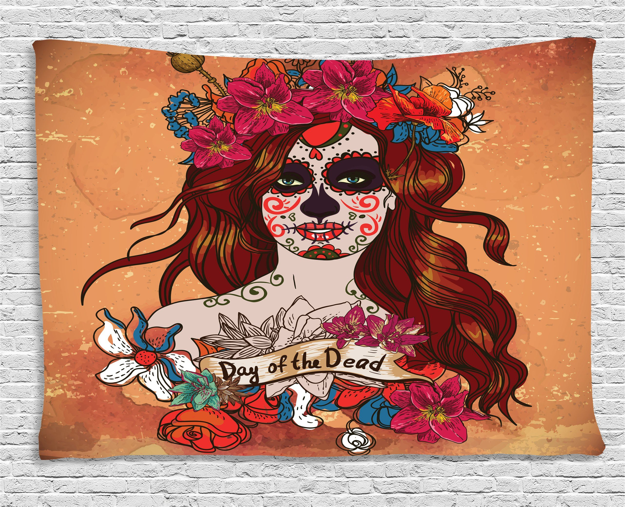 Best Day Of The Dead Decor Tapestry Dia De Los Muertos Spanish With Pictures