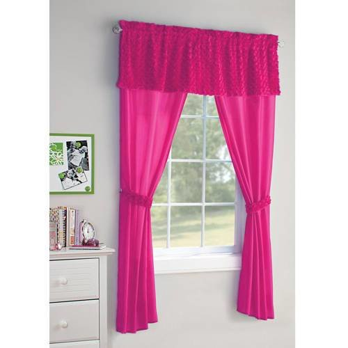 Best Your Zone 5 Piece Poodle Girls Bedroom Curtain Set With Pictures