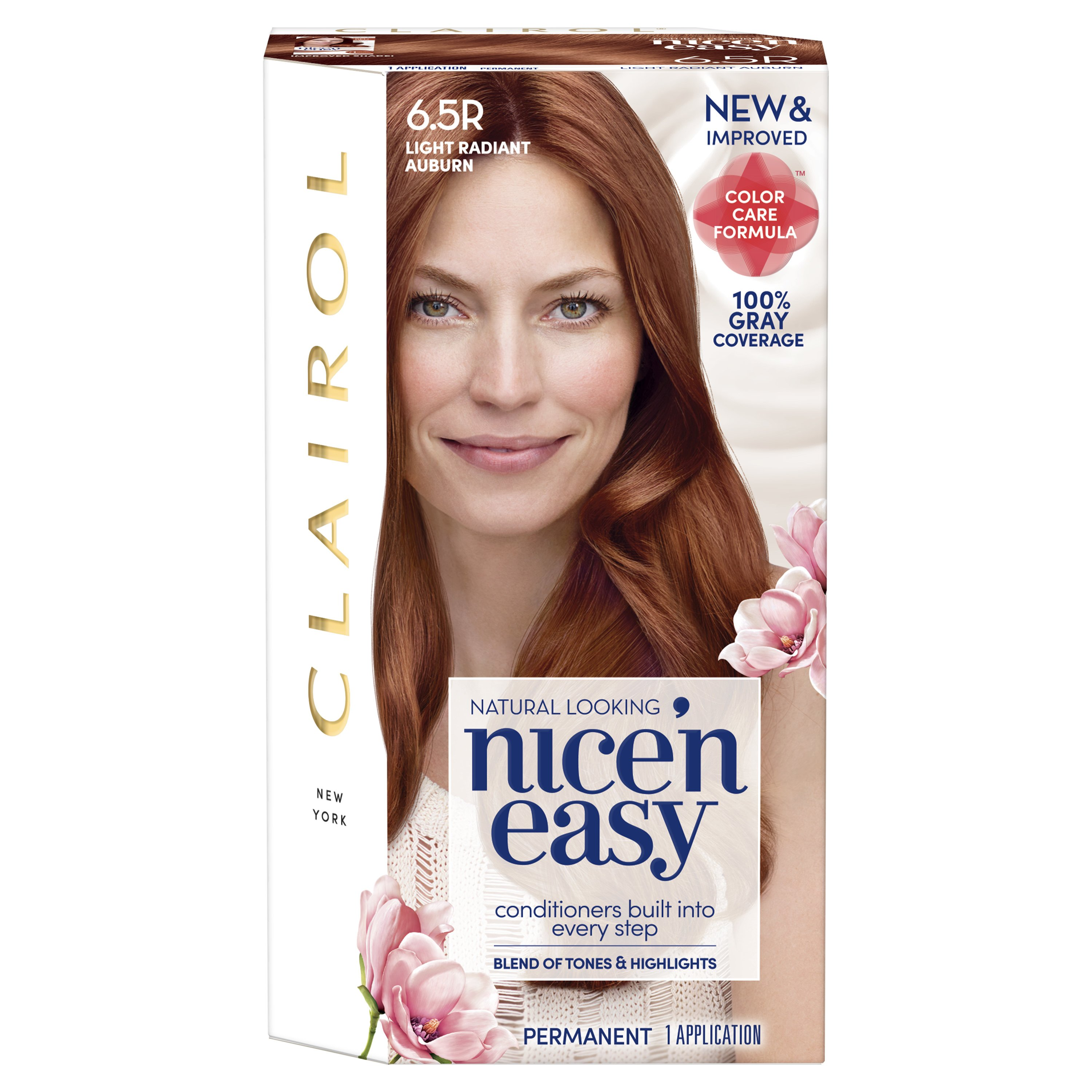 Free Clairol Nice N Easy Hair Color 6 5R Light Radiant Auburn Wallpaper