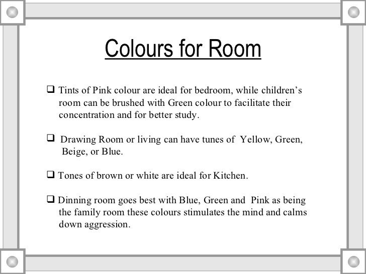 Best Vastu Tips For Home Colours With Pictures