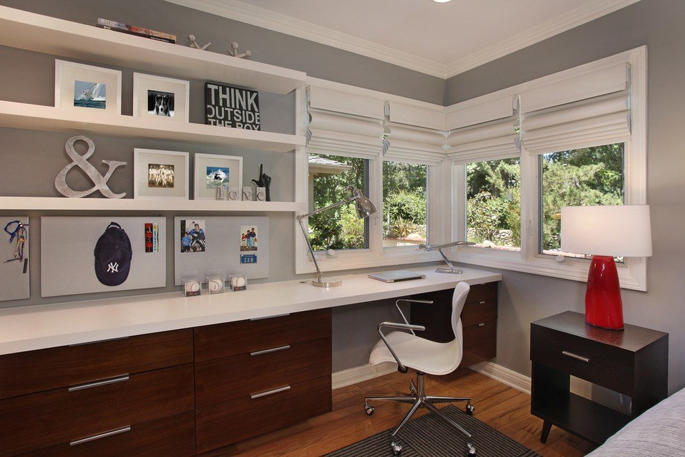 Best 17 Gray Home Office Furniture Designs Ideas Plans With Pictures
