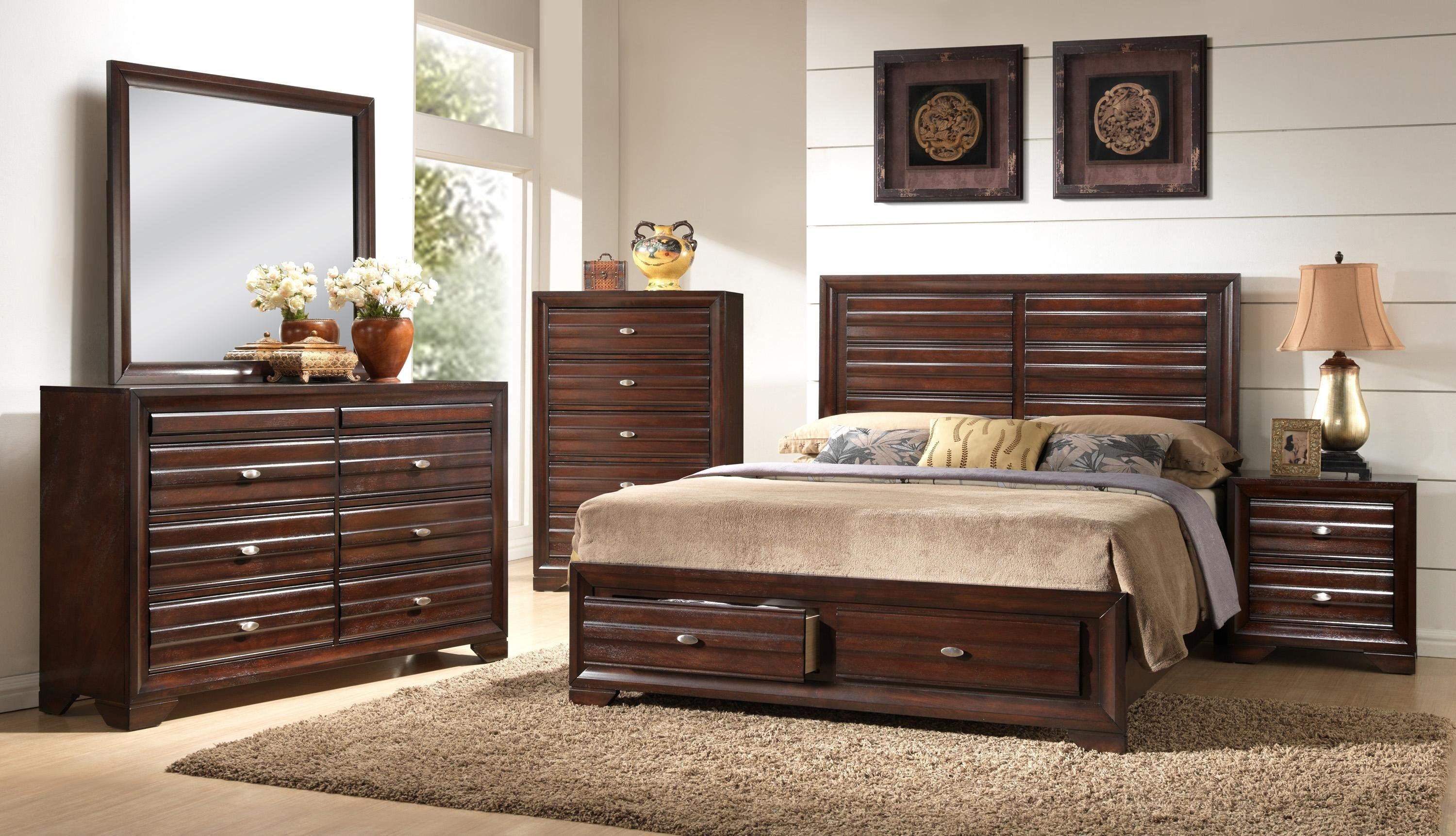 Best Crown Mark Stella B4500 Q Bedroom Group 2 Queen Storage With Pictures