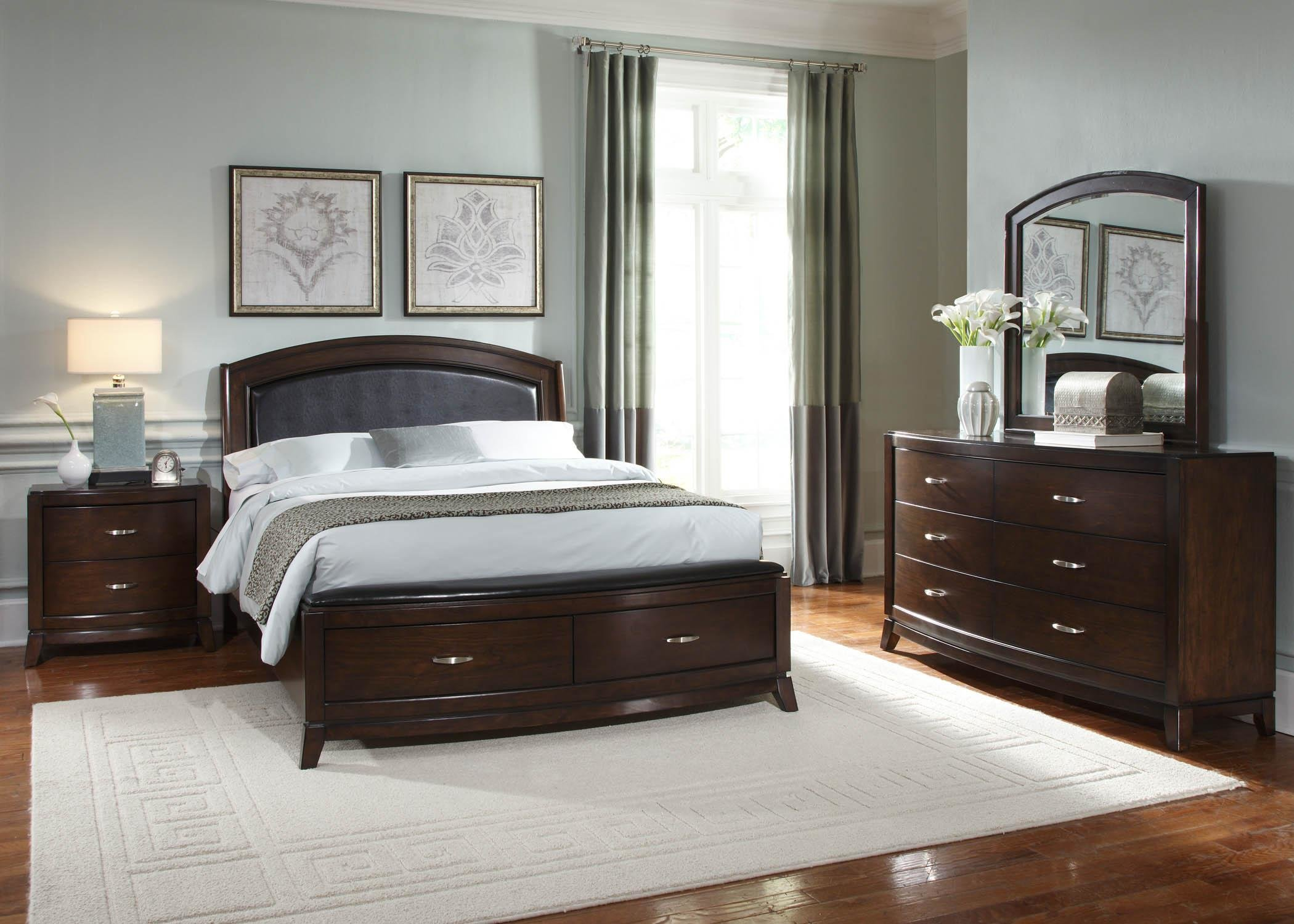 Best Avalon 4Pc Queen Storage Bedroom Set Rotmans Bedroom With Pictures