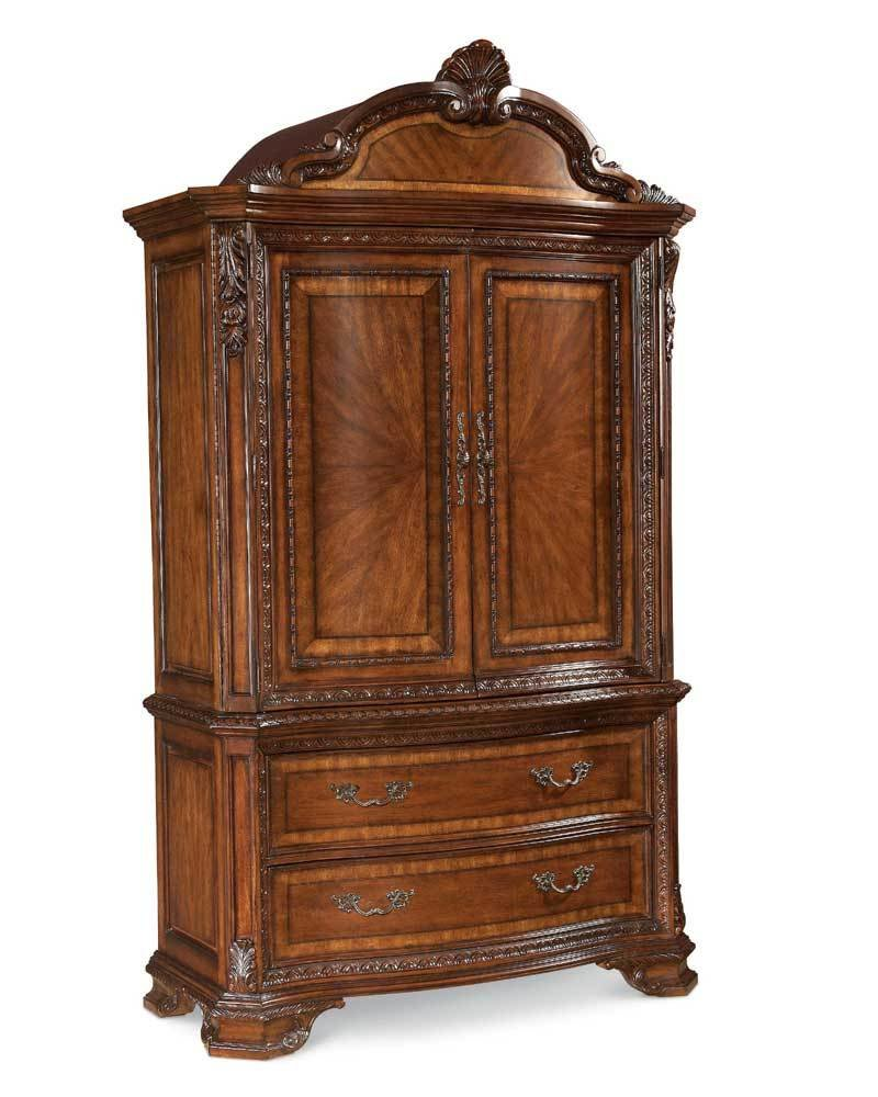 Best A R T Furniture Inc Annabelle Armoire Base And Top With Pictures