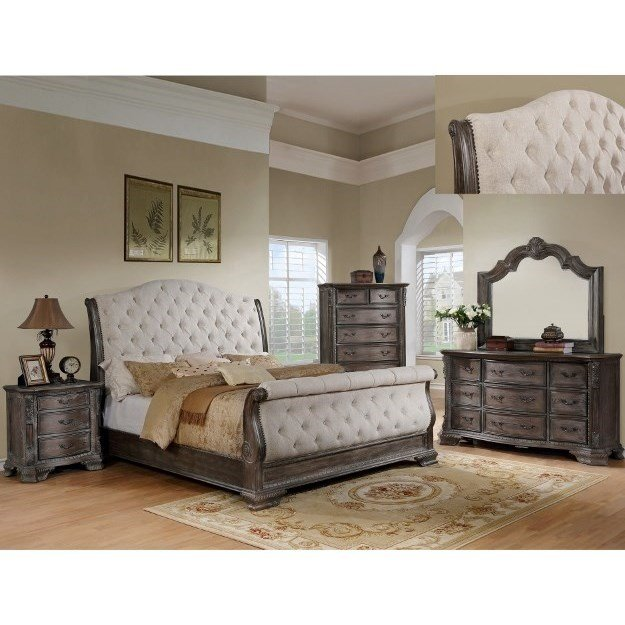 Best Crown Mark Sheffield Queen Bedroom Group Royal Furniture With Pictures