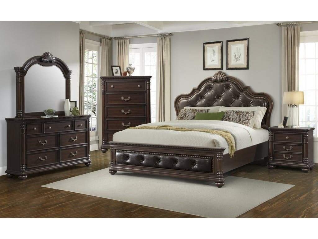 Best Elements International Classic Queen Bedroom Group With Pictures