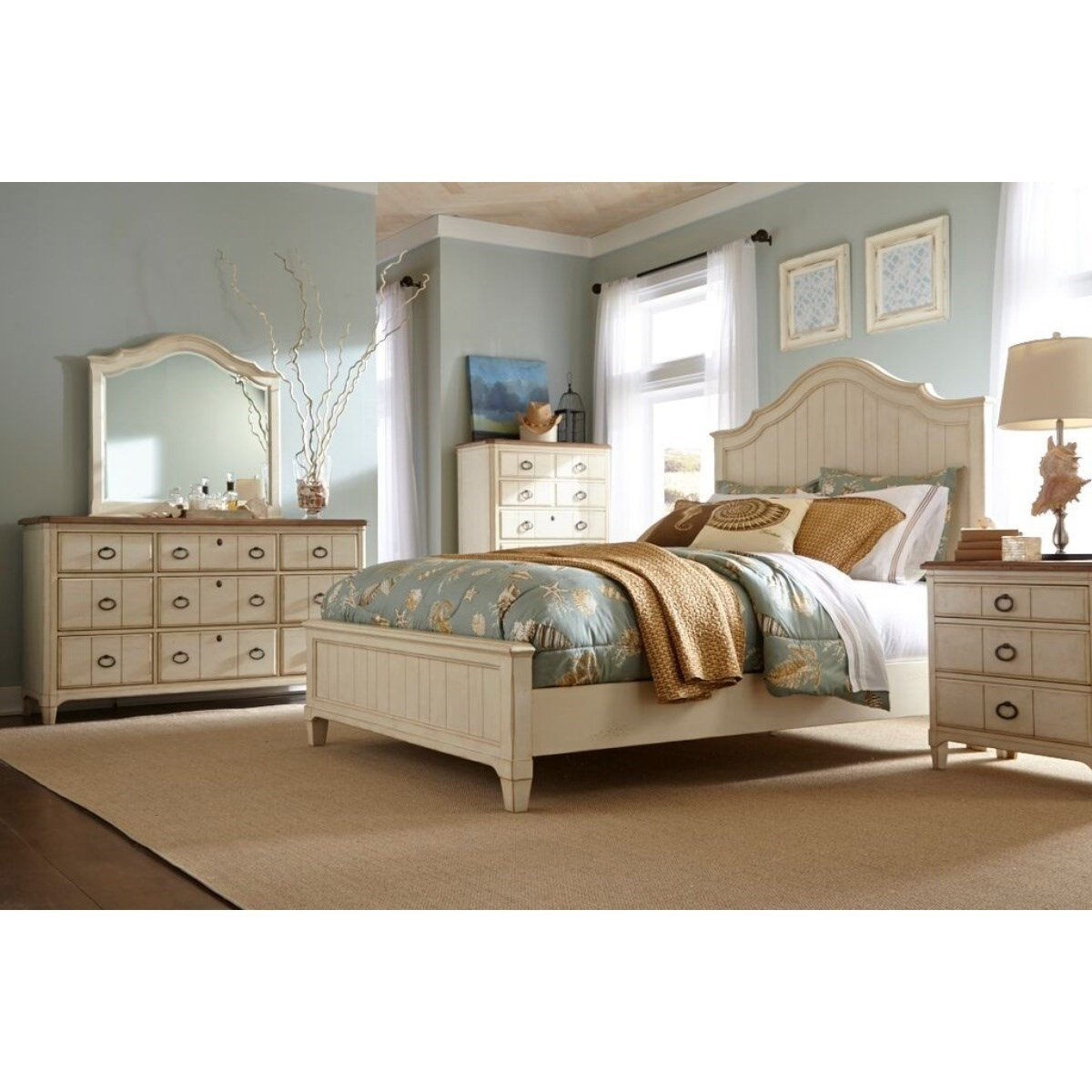 Best Panama Jack By Palmetto Home Millbrook Queen Bedroom Group Baer S Furniture Bedroom Groups With Pictures