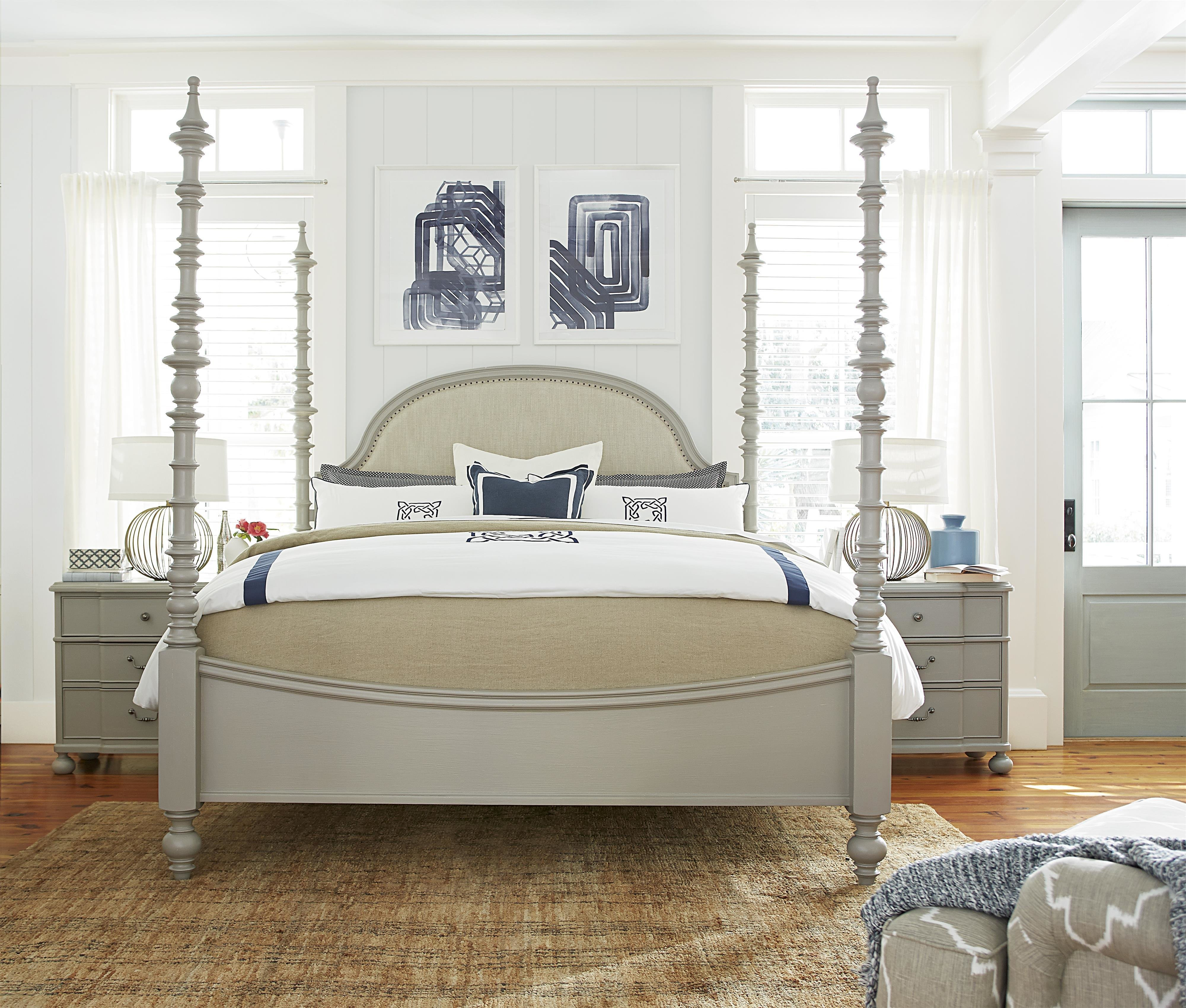 Best Paula Deen By Universal Dogwood King Bedroom Group Story With Pictures