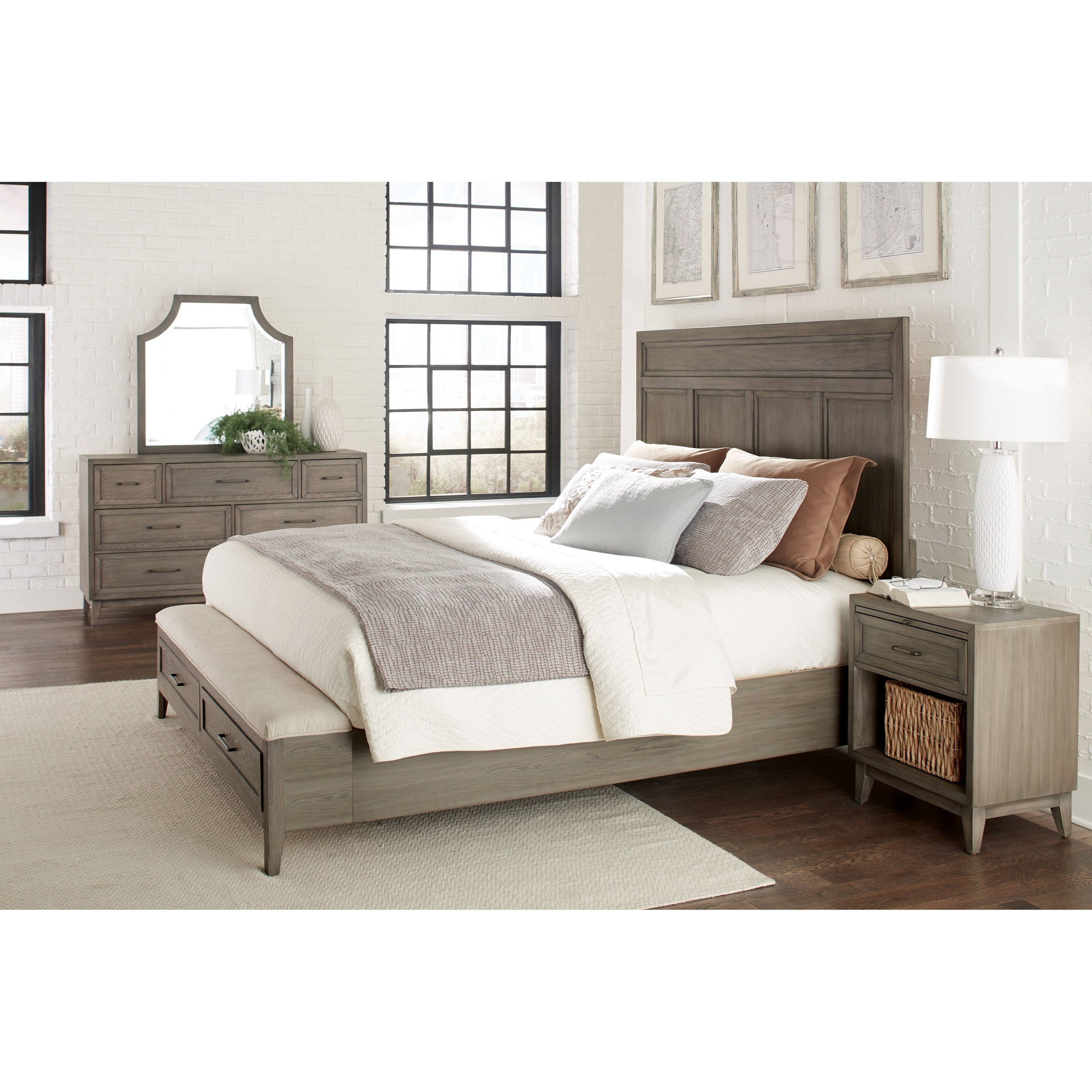 Best Riverside Furniture Vogue Queen Bedroom Group 5 Value With Pictures