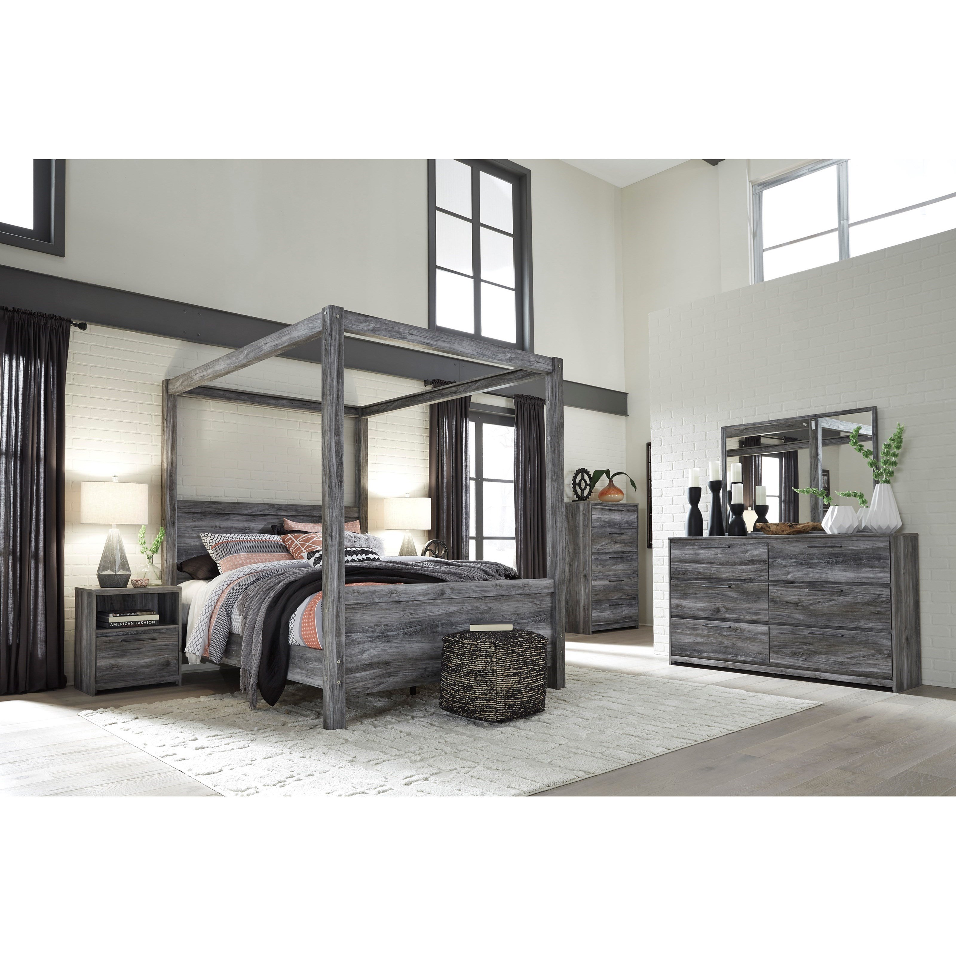 Best Signature Design By Ashley Baystorm Queen Bedroom Group With Pictures