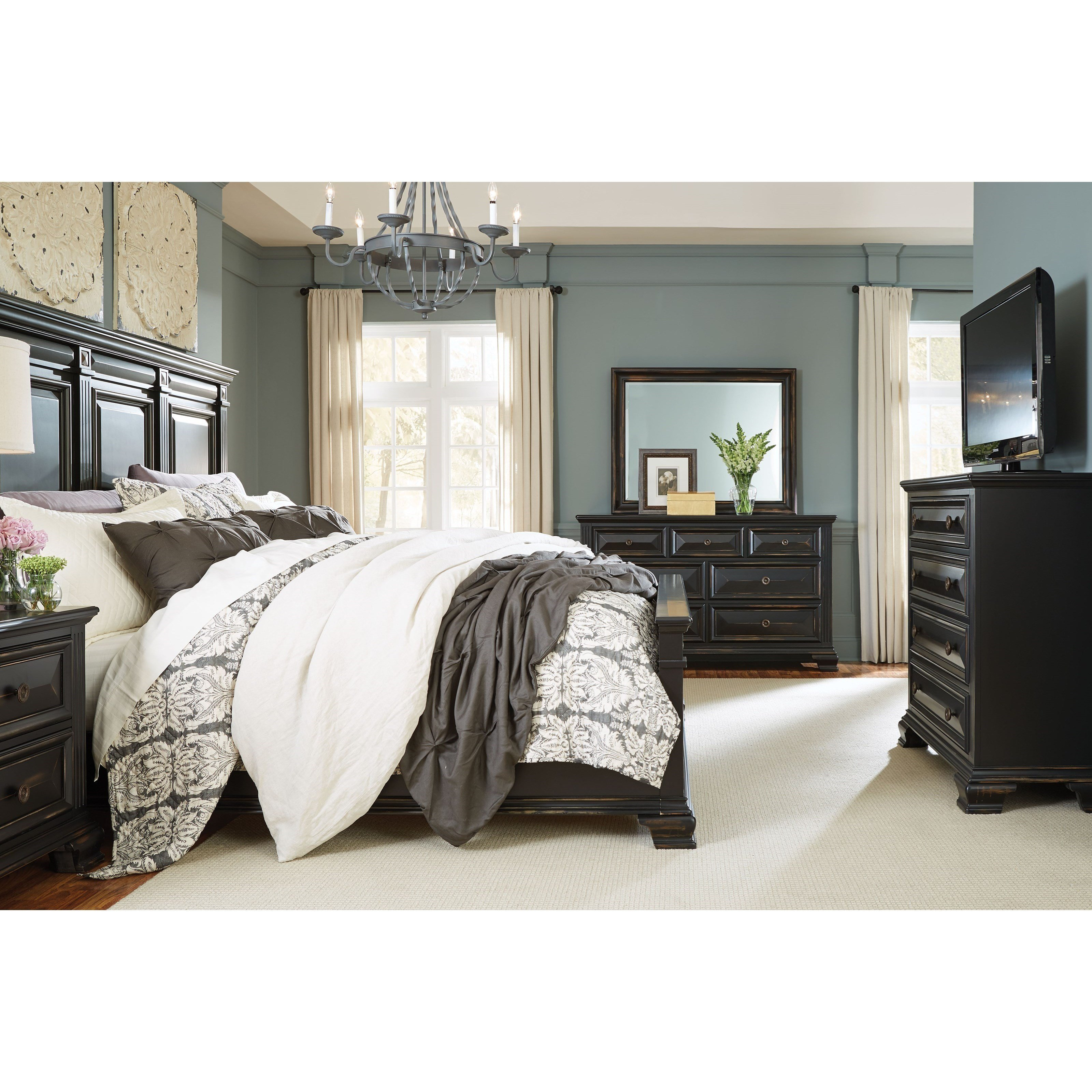 Best Standard Furniture Passages Queen Bedroom Group Darvin With Pictures