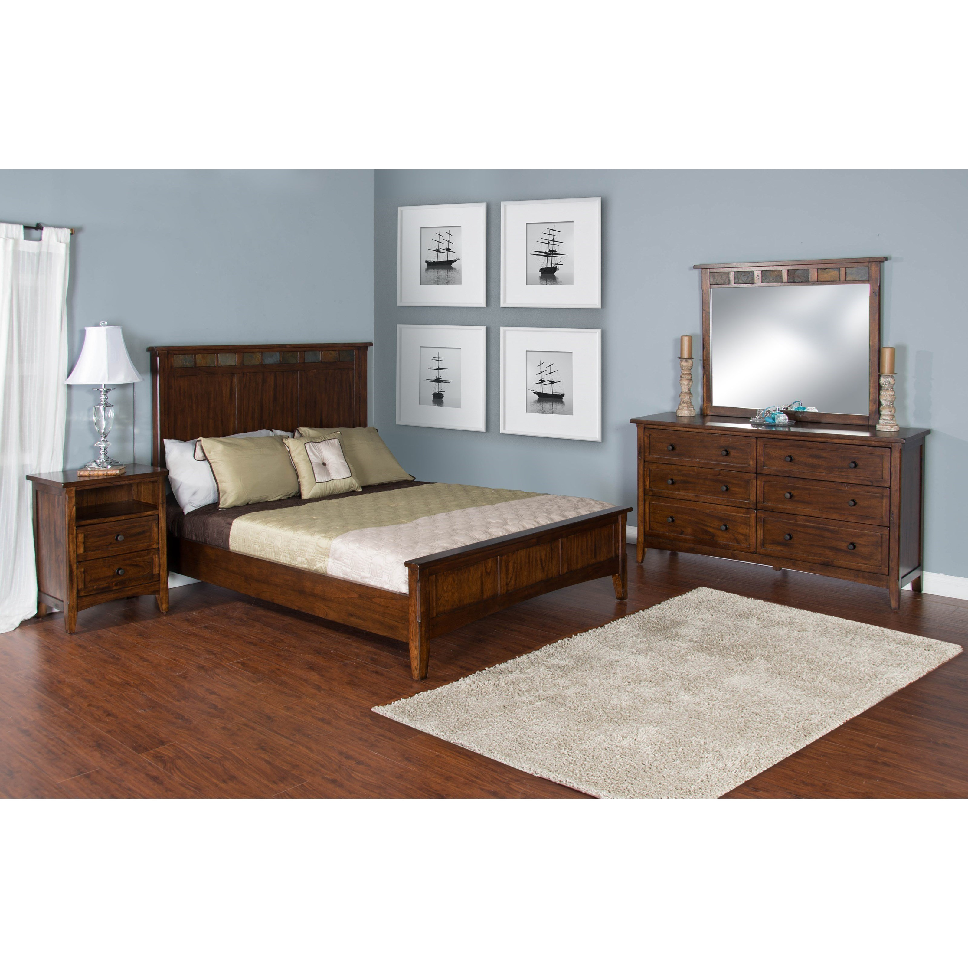 Best Sunny Designs Santa Fe King Bedroom Group Sparks With Pictures