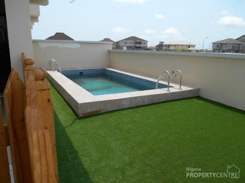 Best For Sale Luxury 5 Bedroom Detached House With Swimming Pool Pinnock Beach Estate Lekki Lagos With Pictures