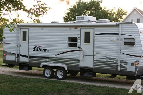 Best 2008 Salem Travel Trailer Full Slide Out Front Kitchen With Pictures