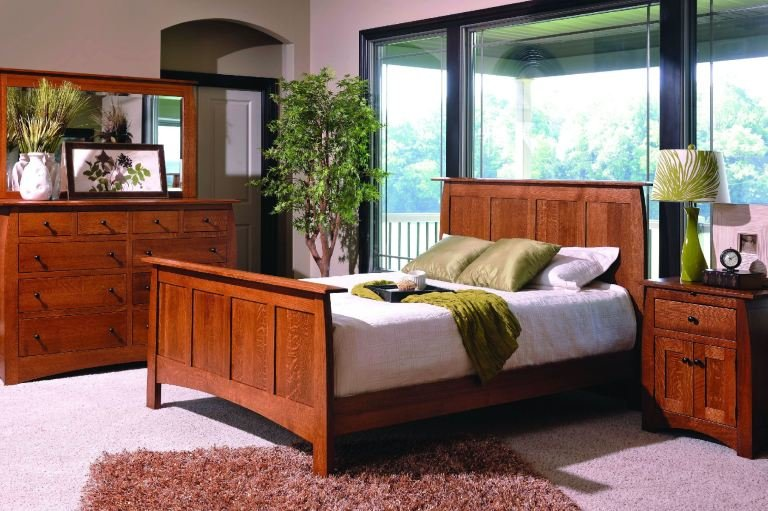 Best Yutzy Woodworking Bedroom Vail Bed 64105 Whitley With Pictures