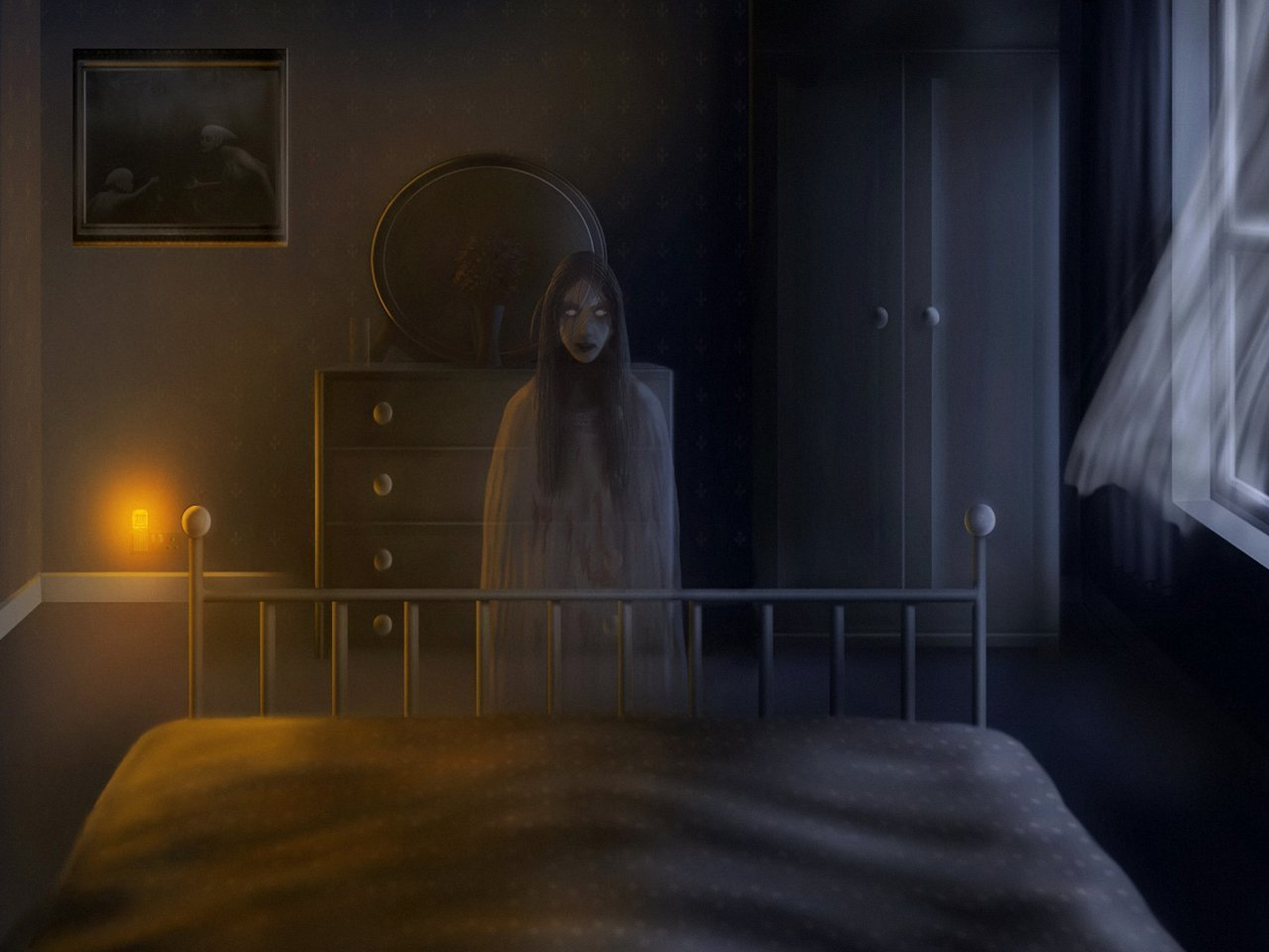 Best Creepy Wallpaper And Background Image 1280X960 Id 97975 Wallpaper Abyss With Pictures