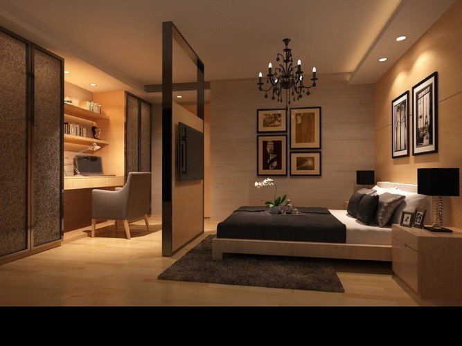 Best 3D Model Bedroom Bedroom Or Hotel Room Photoreal Cgtrader With Pictures