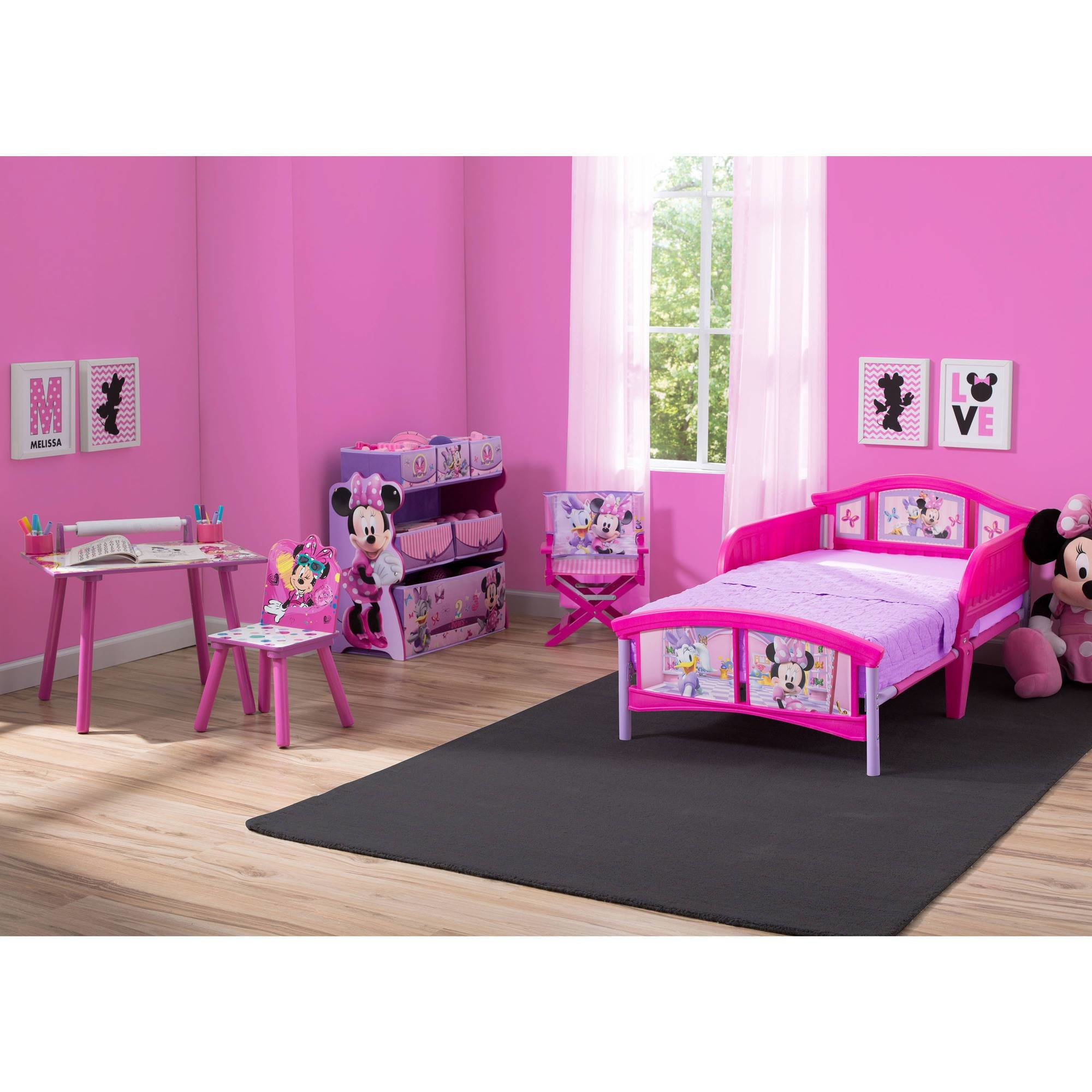 Best Disney Minnie Mouse Room In A Box Bed Desk Toy Organizer With Pictures