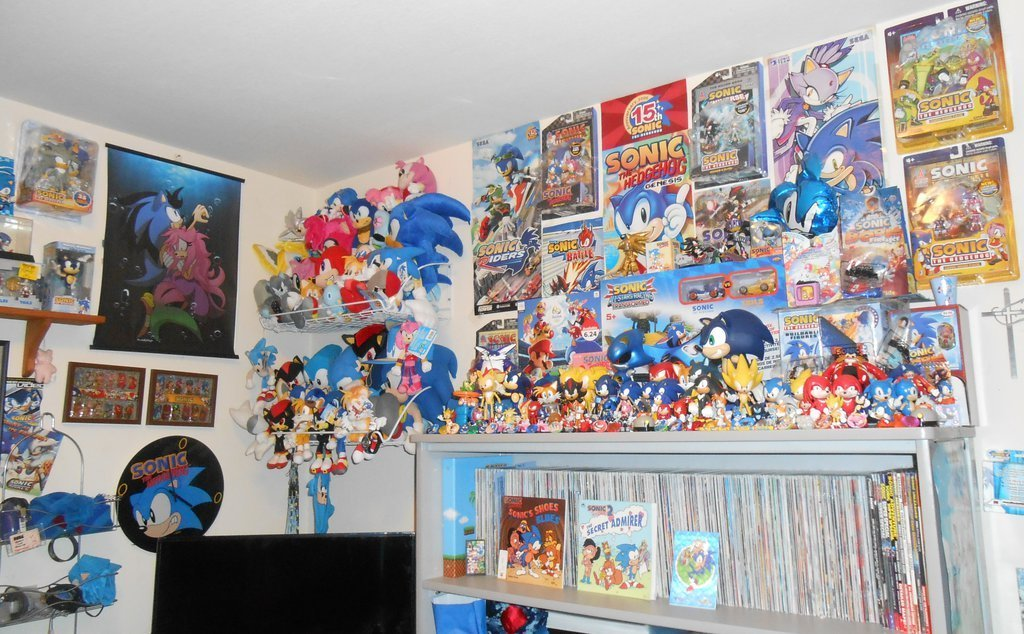 Best Sonic Fan Bedroom Part 2 By Sonicmerchandisefan On Deviantart With Pictures