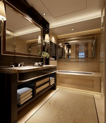 Best Photo Real Bedroom And Bathroom Interior 3D Model Max With Pictures
