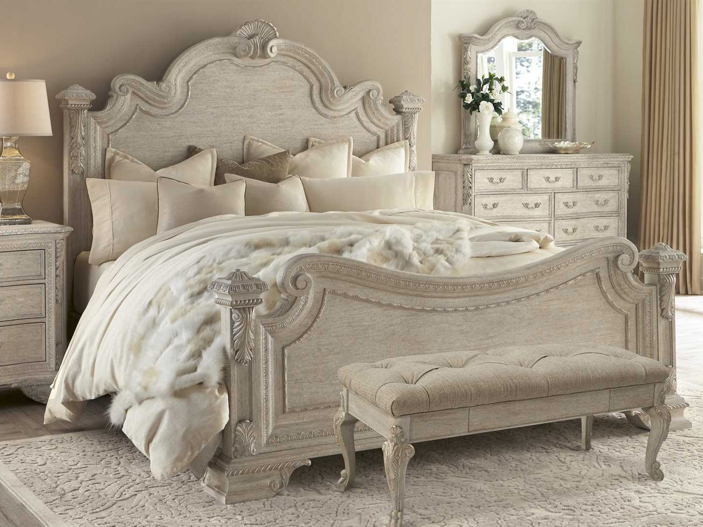 Best A R T Furniture Renaissance Estate Panel Bedroom Set At2431552617Set With Pictures