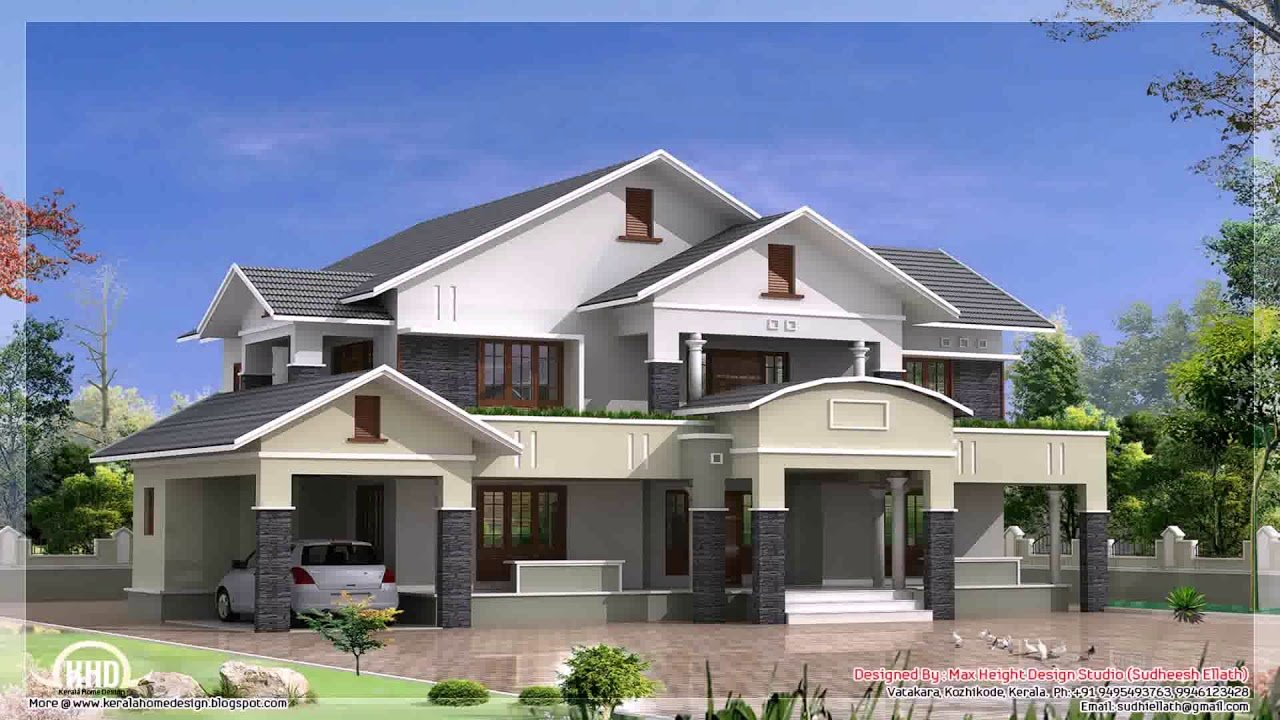 Best 4 Bedroom Single Storey House Plans In Ghana Youtube With Pictures
