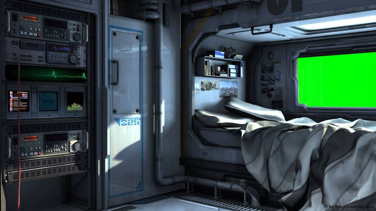 Best Scifi Spaceship Bedroom With Green Screen Movie With Pictures